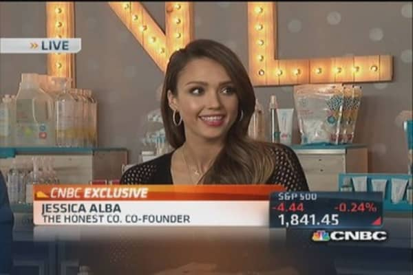 Jessica Alba: Expanding Honest into offline retail
