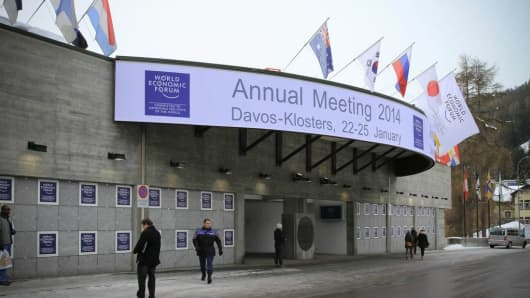 Site of the 2014 WEF annual meetings in Davos, Switzerland.