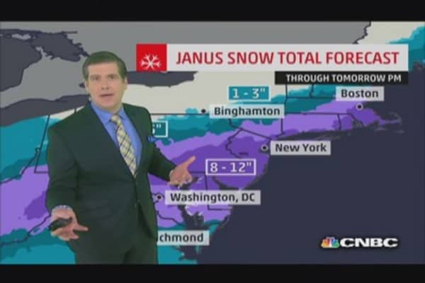 Winter storm Janus triggers warnings