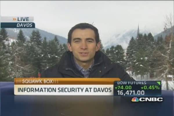 Davos: Global cybersecurity concerns