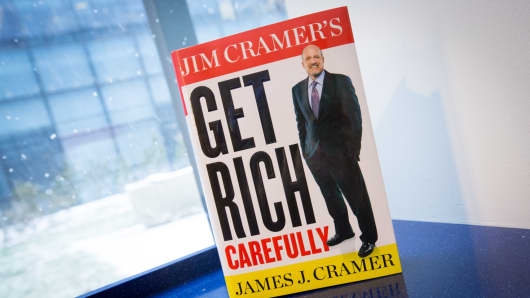 "Jim Cramer's new book, ""Get Rich Carefully"""