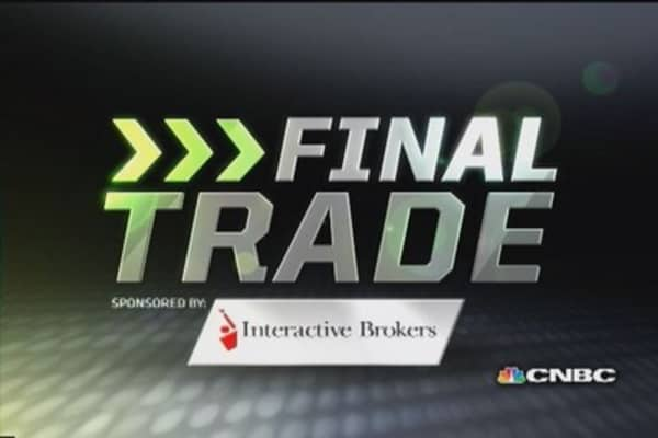 Fast Money Final Trade: YHOO, AA, C & NUAN