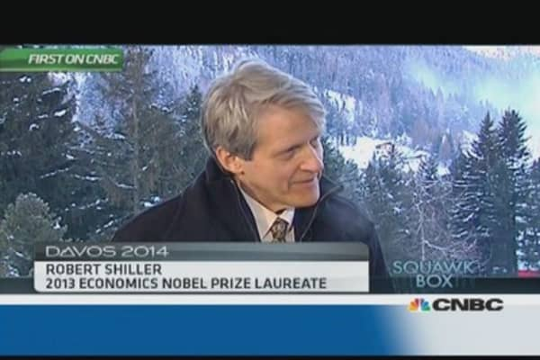 Potential for another stock market collapse: Nobel winner