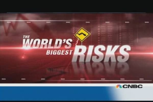 World's biggest risks: Global elite have their say