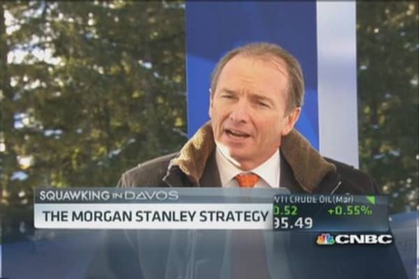 Morgan Stanley's 'core' strategy for new Wall Street