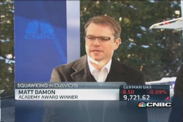 Matt Damon's quest for clean water awareness