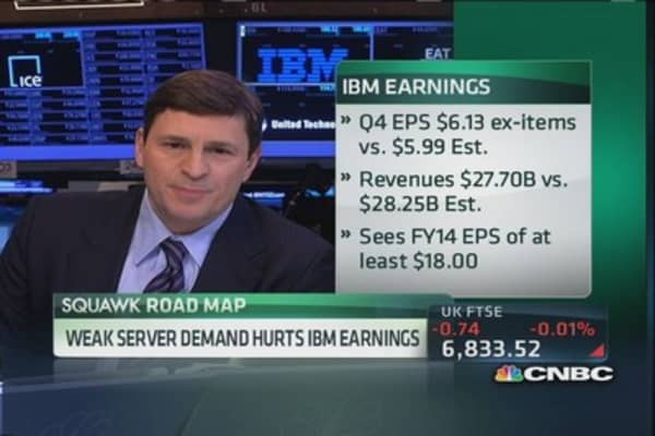 Cramer: IBM's roadmap is in tatters