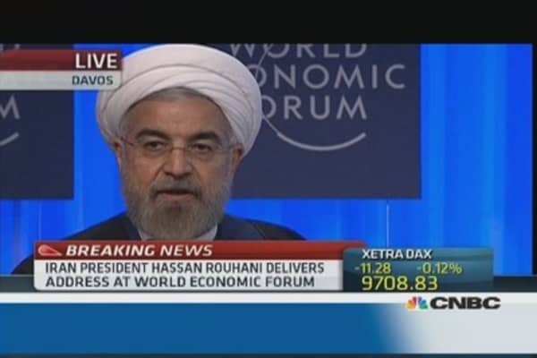 'No one can live alone': Rouhani