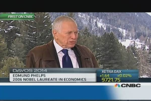 US is stuck in 'innovation rut': Phelps