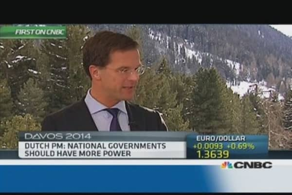 The big issues have been 'tackled': Dutch PM