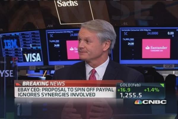 eBay makes PayPal better: Donahoe