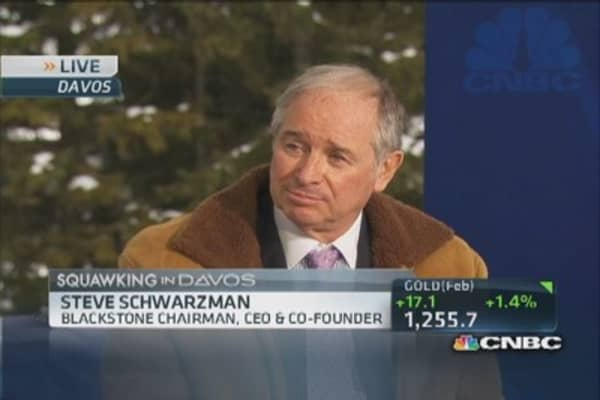 Blackstone 'actively' investing in real estate: CEO