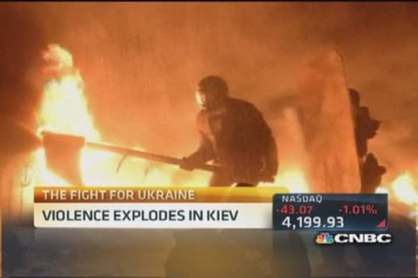 Ukraine protesters want early elections