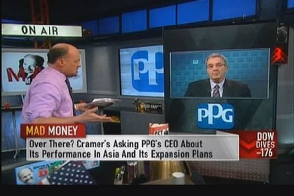 PPG CEO: Feel good about biz in China