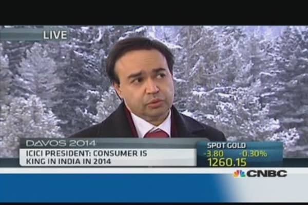 Consumer is king in India: ICICI President