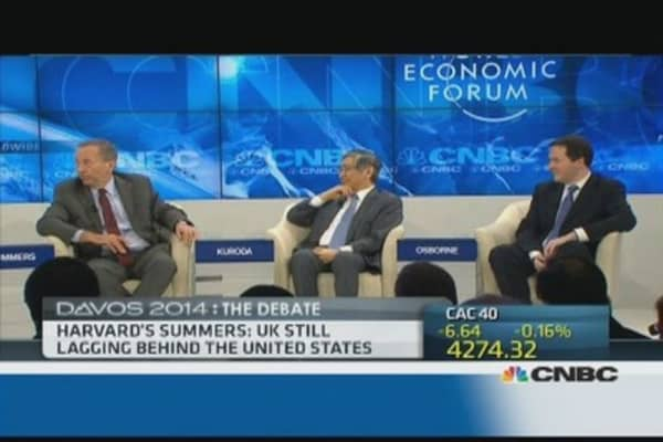 Larry Summers vs George Osborne