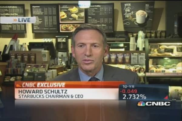 Cramer: Did Starbucks CEO 'bury the lead?'
