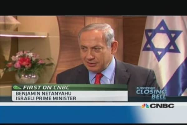 Iran doesn't 'walk the walk': Netanyahu