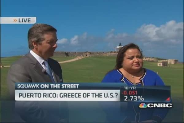 Problems in Puerto Rico: Debt crisis looms