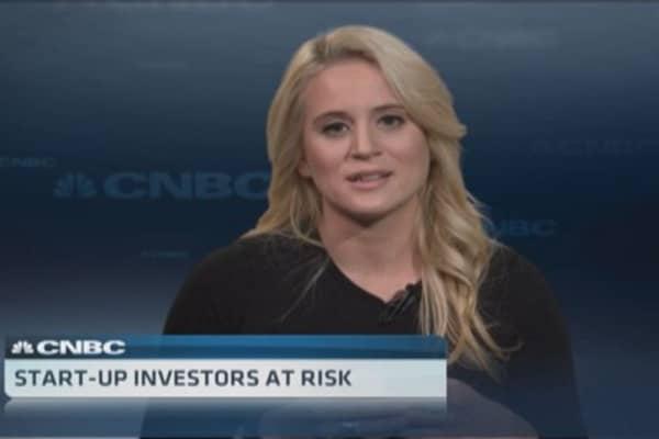 Start-up crowdfunding risks
