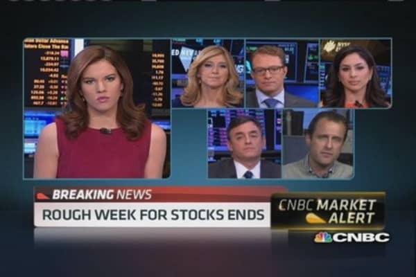 Next week's trading