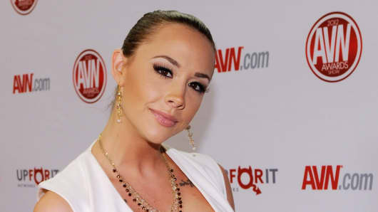 Adult film actress Chanel Preston, who is concerned that performers don't have enough control over health issues.