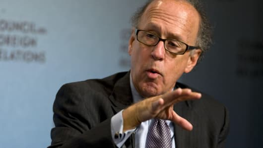 Stephen Roach, former chairman of Morgan Stanley Asia
