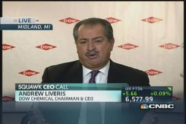 Dow CEO: We are 'open to all ideas'