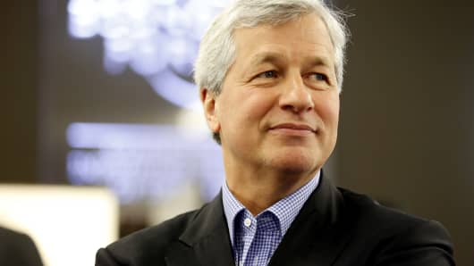 Jamie Dimon, chief executive officer of JPMorgan Cha