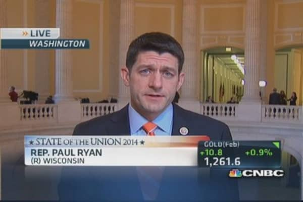 Rep. Ryan: Obama's 'no new ideas' address