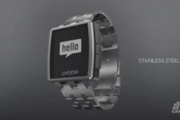 Tech Yeah! Pebble Steel smartwatch
