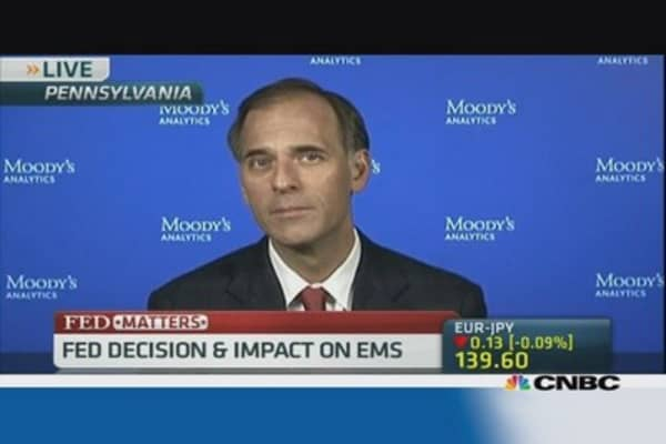 Emerging markets pose no threat to Fed: Moody's