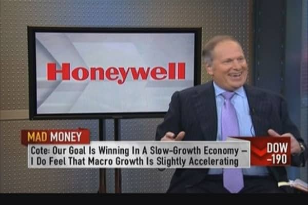 Honeywell CEO: Bullish on aerospace