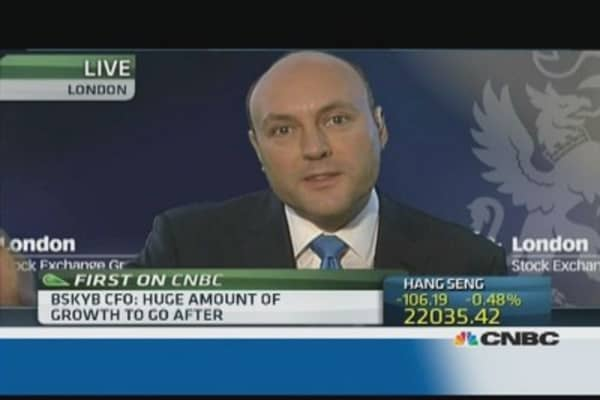 Sports only one part of our business: BSkyB CFO