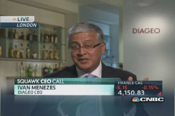 Diageo CEO: Tequila & whisky hot now