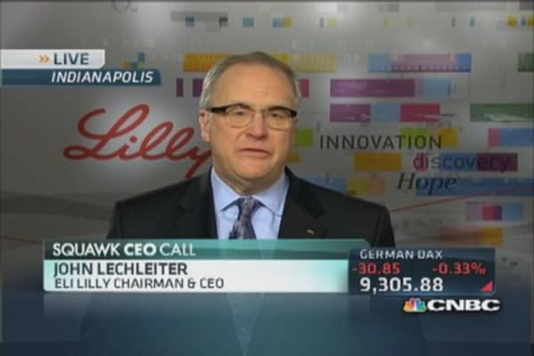 Eli Lilly CEO: 2014 is inflection year for us