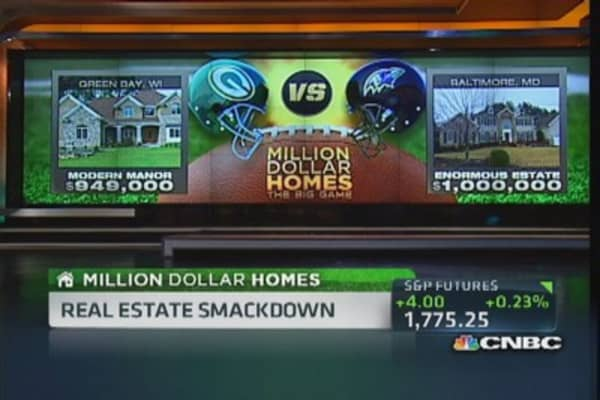 Million Dollar Homes: Packers vs. Ravens