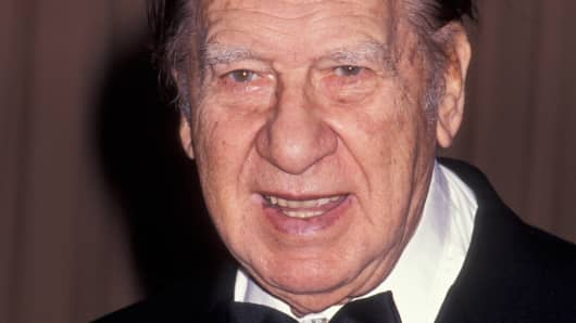 Henny Youngman in 1992