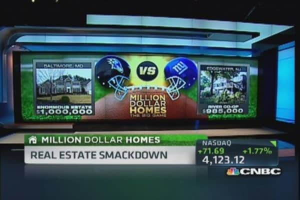 Million Dollar Homes: Ravens vs. Giants