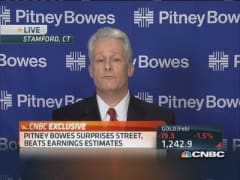 Pitney Bowes CFO: Delivering revenue growth was key