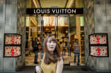 Louis Vuitton shop in Hong Kong
