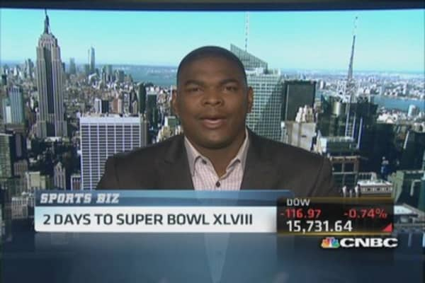 Keyshawn Johnson's Super Bowl pick