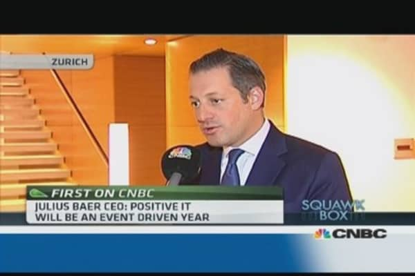 I am positive for 2014: Julius Baer CEO