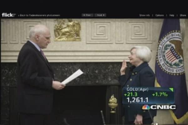 The markets take on Janet Yellen