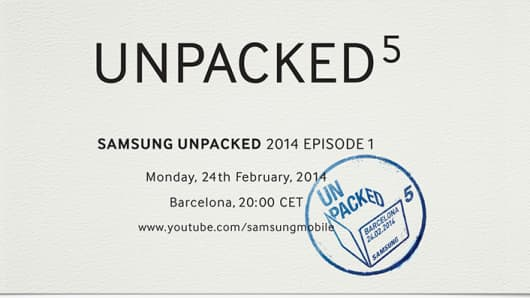 Invitation to the Unpacked event