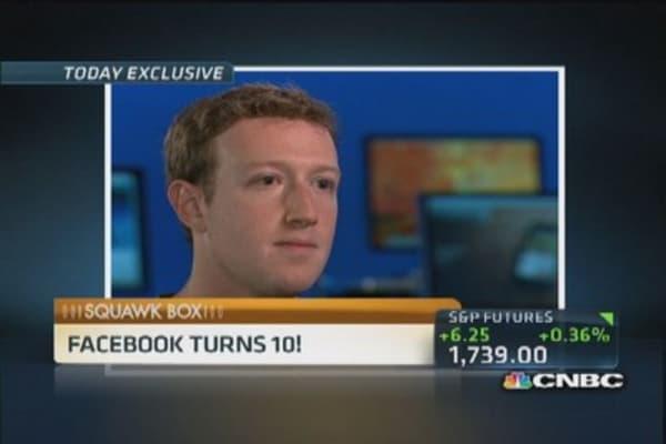 Facebook turn 10