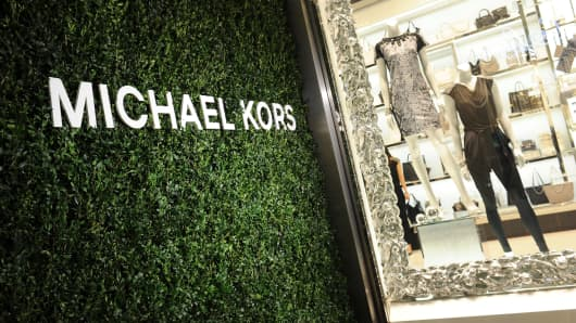 Michael Kors store in Milan.