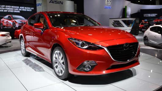 The 2014 Mazda 3 sedan