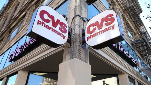A CVS store in San Francisco, California.