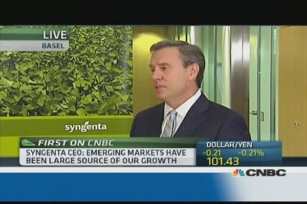 We have seen this EM turmoil before: Syngenta CEO